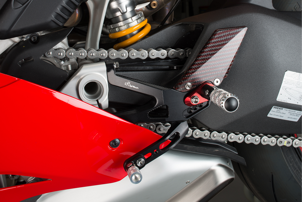 Lightech Ducati Panigale V4 2018 R Version Adjustable Rearsets